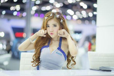 Nguoi dep Thai quyen ru tai Motor Expo 2015 - Anh 1