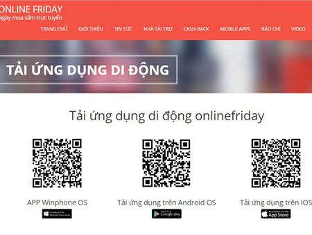 Online Friday 2015 ra ung dung mobile tren ca iOS, Android, Windows Phone - Anh 1
