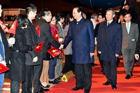 Thu tuong Nguyen Tan Dung toi Brussels, Vuong quoc Bi - Anh 1