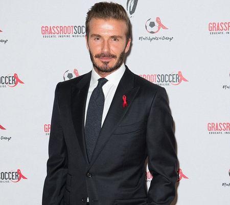 Vo chong Beckham tich cuc tham gia phong chong AIDS - Anh 1