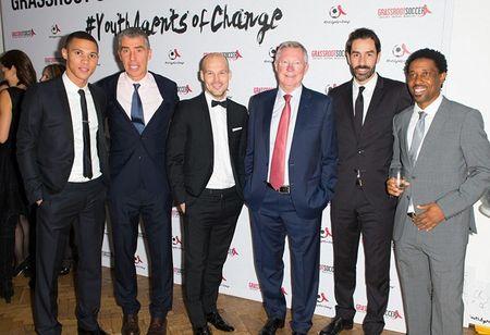 Vo chong Beckham tich cuc tham gia phong chong AIDS - Anh 5