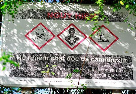 Vao ho nhiem dioxin cao nhat nuoc bat ca dem ban - Anh 2