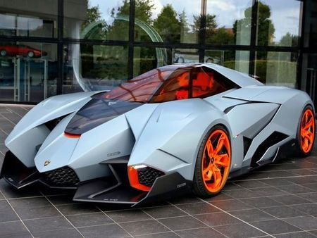 Sieu xe dac biet cua Lamborghini ra mat tai trien lam Geneva - Anh 1