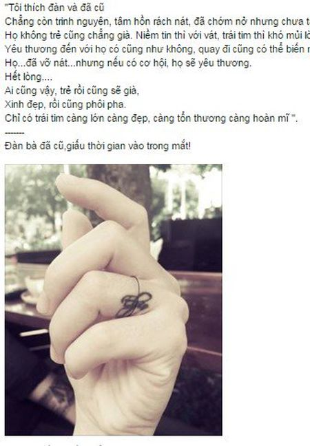 Vo Chi Nhan khoe hinh xam moi o cho le ra deo nhan cuoi - Anh 1