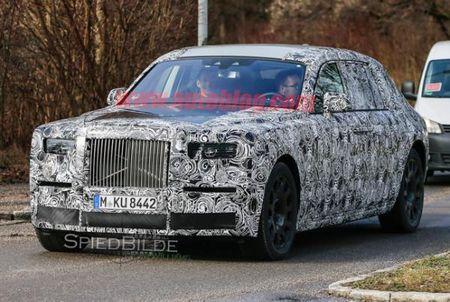 Rolls-Royce Phantom the he moi lo dien tren duong thu - Anh 1