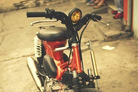 """Sieu cub Honda"" do bobber cuc chat cua biker Viet - Anh 3"