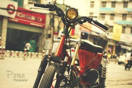 """Sieu cub Honda"" do bobber cuc chat cua biker Viet - Anh 4"
