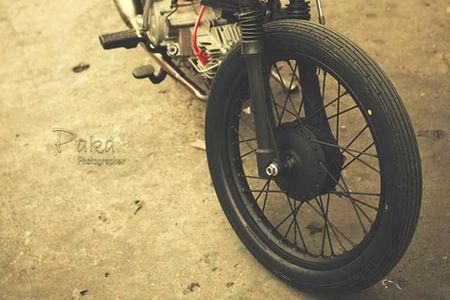 """Sieu cub Honda"" do bobber cuc chat cua biker Viet - Anh 5"