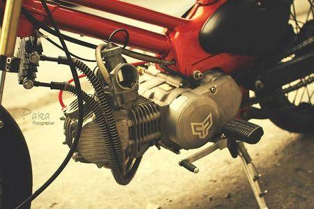 """Sieu cub Honda"" do bobber cuc chat cua biker Viet - Anh 6"
