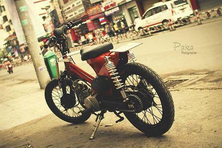 """Sieu cub Honda"" do bobber cuc chat cua biker Viet - Anh 8"