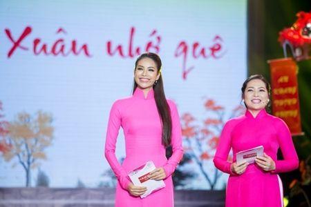 Pham Huong hoi hop vi lan dau lam MC chuong trinh Tet - Anh 2