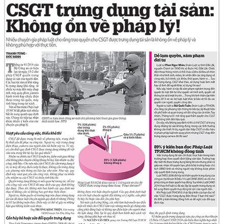 Trung dung cua CSGT duoc hieu nhu huy dong!? - Anh 2
