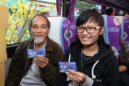 Hon 5.700 sinh vien, nguoi lao dong ron ra ve que don Tet - Anh 5