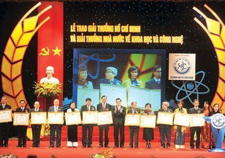 Gia han xet tang Giai thuong Ho Chi Minh, Giai thuong Nha nuoc ve KH&CN - Anh 1