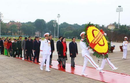 Lanh dao Dang, Nha nuoc vao Lang vieng Chu tich Ho Chi Minh - Anh 3