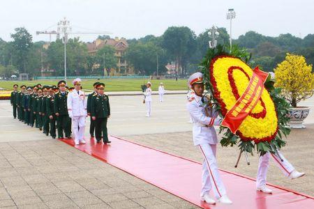 Lanh dao Dang, Nha nuoc vao Lang vieng Chu tich Ho Chi Minh - Anh 5