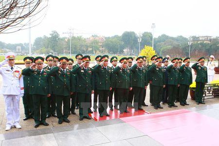 Lanh dao Dang, Nha nuoc vao Lang vieng Chu tich Ho Chi Minh - Anh 6