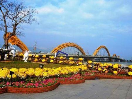Trom hoa o Ho Guom: Da Nang, Vung Tau khuyen Ha Noi - Anh 1