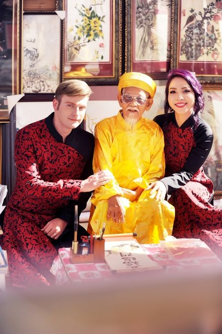 Khanh Loan du xuan cung Kyo York - Anh 2