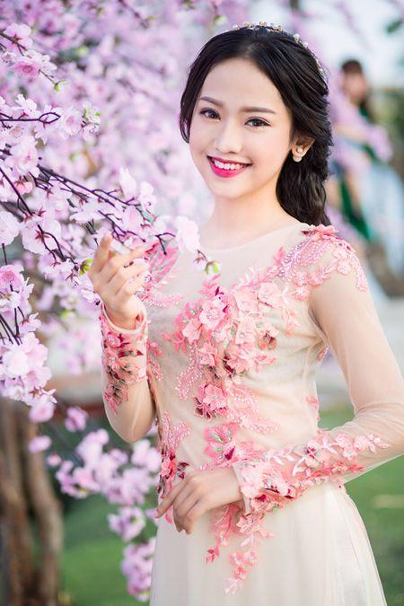 Thuy Vi 'khoac' nhan sac moi du xuan - Anh 2