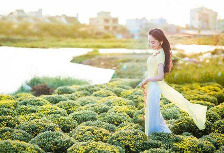 Thuy Vi 'khoac' nhan sac moi du xuan - Anh 9