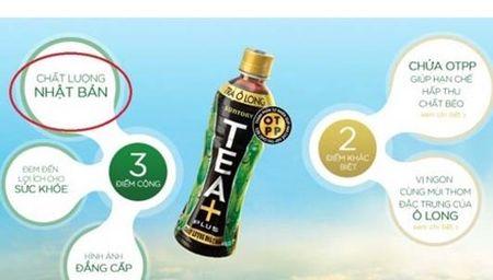 Pepsico Viet Nam thua nhan Tra O long Tea+Plus lam tu bot tra Trung Quoc - Anh 1