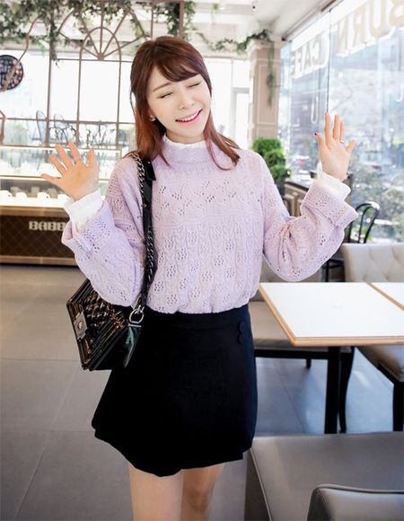 Ao so mi trang tinh khoi say long co gai Sai thanh - Anh 3