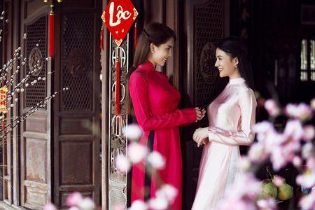 Ngoc Trinh bo do hieu dien ao dai diu dang don xuan - Anh 8