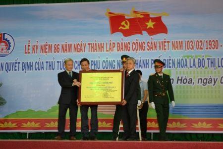 Bien Hoa duoc cong nhan la do thi loai I - Anh 1