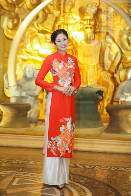 Ngoc Han, Ky Duyen 'don tet' trong bep - Anh 13