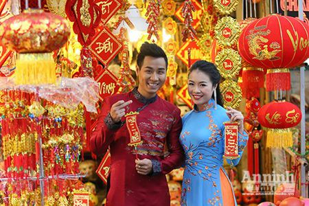 Cho hoa Hang Luoc vao xuan - Anh 8