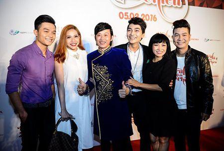 Hoai Linh den chuc mung Khuong Ngoc ra mat phim dau tay - Anh 3
