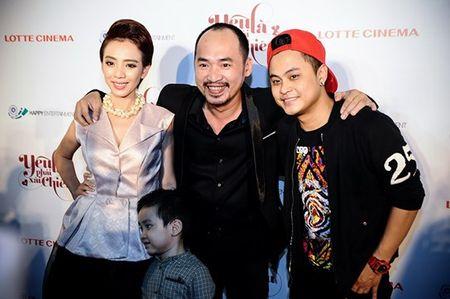 Hoai Linh den chuc mung Khuong Ngoc ra mat phim dau tay - Anh 7