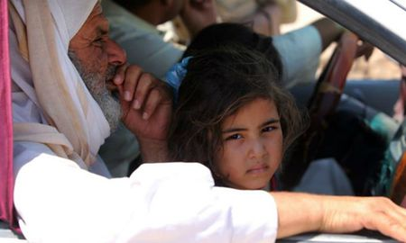 Iraq: Ca mot thanh pho bi nguy co chet doi do bi vay ham - Anh 1