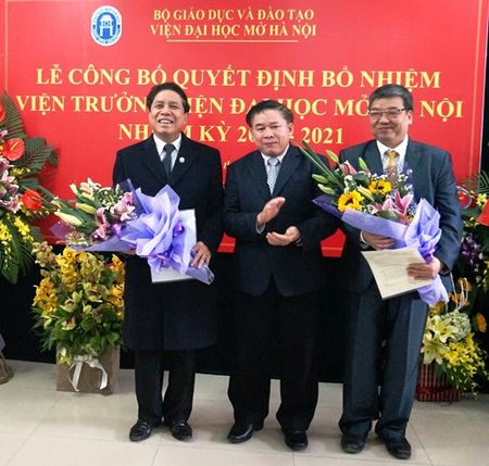 Bo nhiem Vien truong Vien Dai hoc Mo Ha Noi - Anh 1