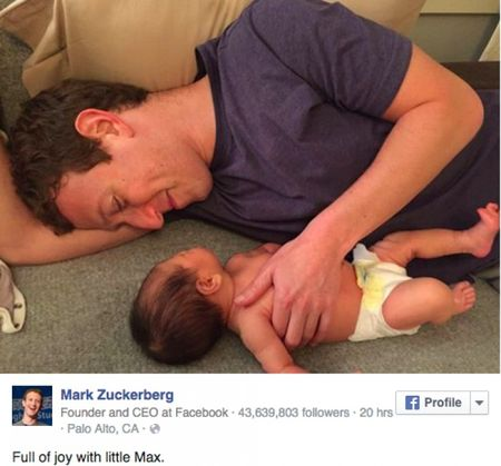 Ong trum Facebook Mark Zuckerberg gay bao khi khoe tu quan ao - Anh 2