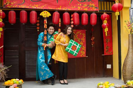 Bo roi Truong Giang, Nha Phuong tinh tu cung 'trai la' - Anh 1