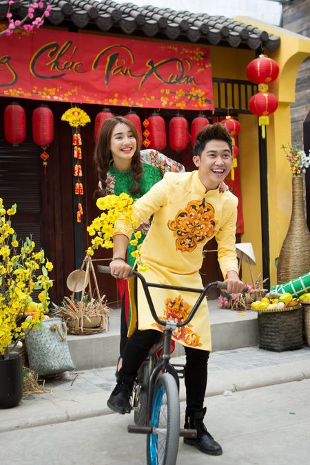 Bo roi Truong Giang, Nha Phuong tinh tu cung 'trai la' - Anh 3