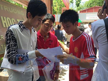 Yeu cau Bo GD - DT som cong bo phuong an thi THPT 2016 - Anh 1
