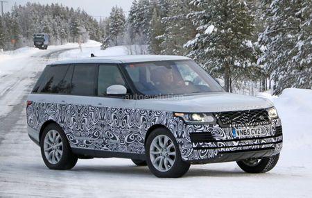 Range Rover 2017 chay thu tren duong tuyet - Anh 1