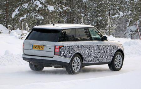 Range Rover 2017 chay thu tren duong tuyet - Anh 2