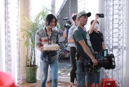 Nhung Kate mung sinh nhat Tri Nguyen tren phim truong - Anh 3