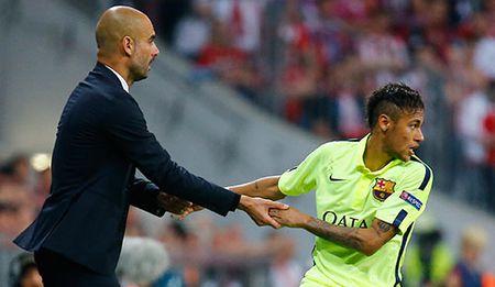 Nho Pep, City 'tom' ca Messi lan Neymar? - Anh 1