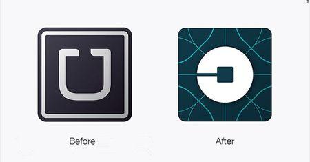"""Uber doi logo khien dan mang """"noi doa"""" - Anh 1"""