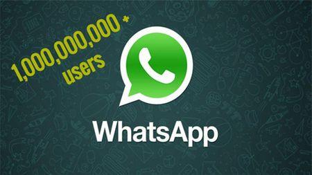 Sau Facebook va Gmail, WhatsApp gia nhap CLB 1 ty nguoi dung - Anh 1