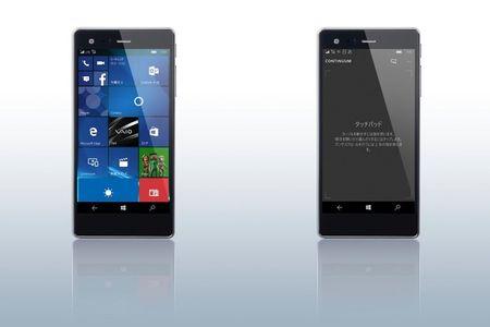 Vaio ra mat smartphone Phone Biz chay Windows 10 - Anh 1
