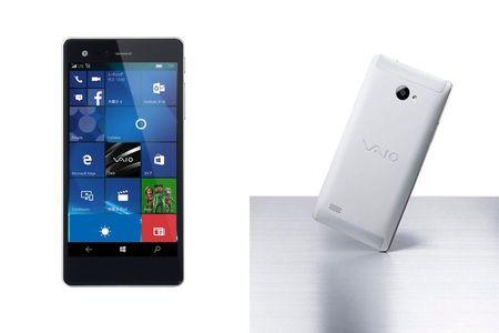 Vaio ra mat smartphone Phone Biz chay Windows 10 - Anh 2