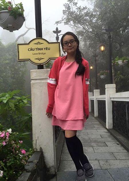 Ngam con gai xinh xan cua dien vien Mai Thu Huyen - Anh 6