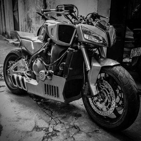 Tuyet pham Honda CBR600RR do Streetfighter tai Viet Nam - Anh 1