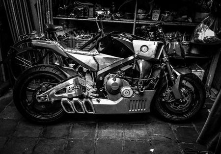 Tuyet pham Honda CBR600RR do Streetfighter tai Viet Nam - Anh 3